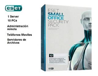 Antivirus Eset Small Office Security 10 Pc 1 Servidor