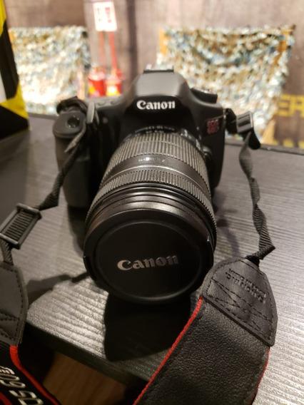Canon Eos 60d Com Lente 18-135