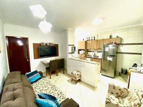 Imagem 1 de 27 de Cobertura Com 3 Dormitórios À Venda, 146 M² Por R$ 525.000,00 - Vila Curuçá - Santo André/sp - Co5685