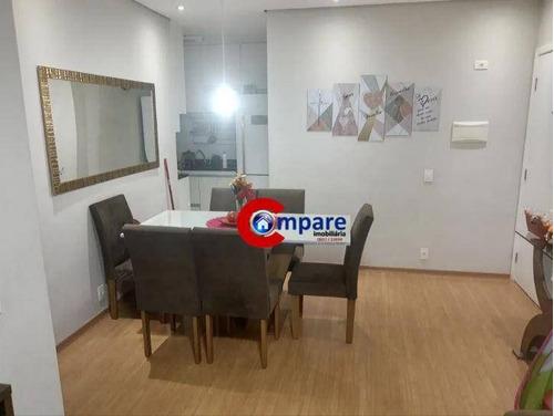 Apartamento Garden Com 3 Dormitórios À Venda, 92 M² Por R$ 480.000 - Picanco - Guarulhos/sp - Gd0012