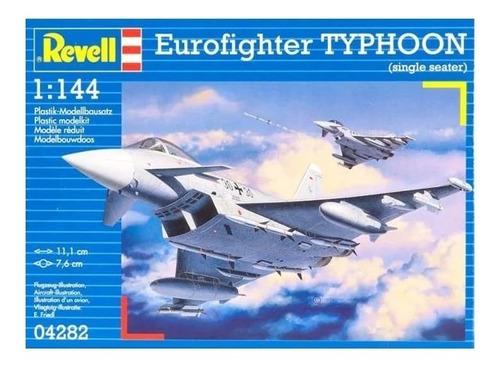 Imagen 1 de 5 de Eurofighter Typhoon - Escala 1/144 Revell 04282