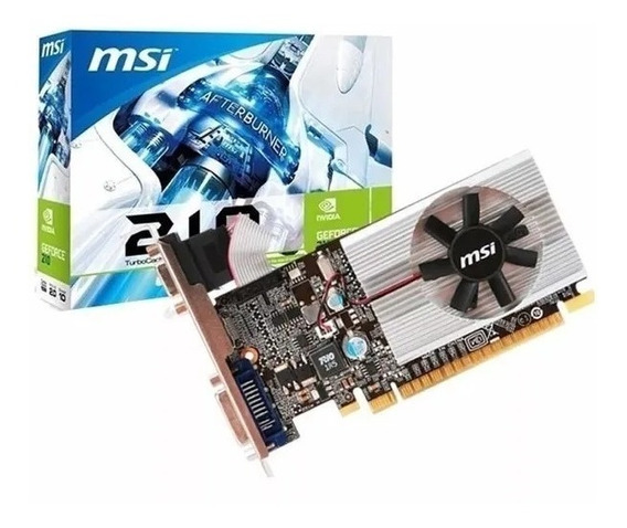 Placa De Video Msi 210 1gb Ddr3 Hdmi Vga Geforce Low Profile