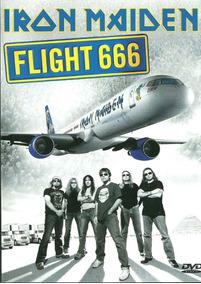 Dvd Duplo Iron Maiden Flight 666 Novo Lacrado Original