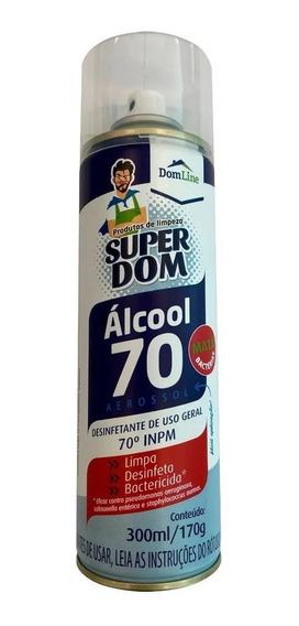 Álcool 70 Em Spray Inpm Aerossol 300ml