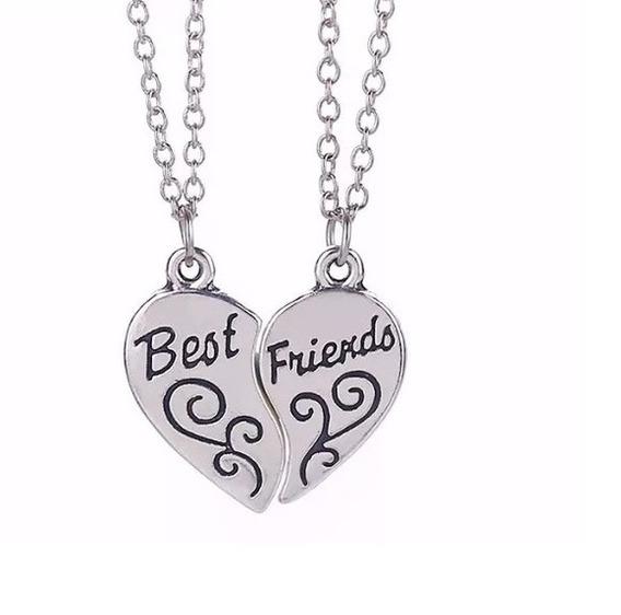 Colar Amizade Best Friends Aço Inox