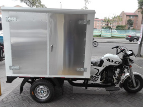 Motocarro Ayco Con Furgón De Aluminio