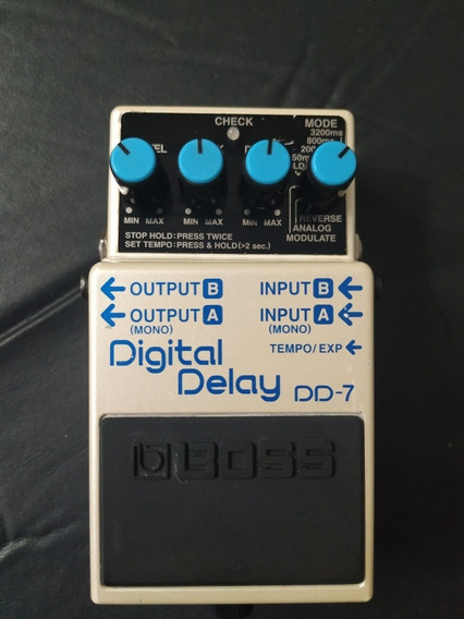 Pedal Boss Dd-7 Digital Delay Dd7