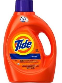 Tide He Turbo Clean Original Olor Líquido Detergente De Lava