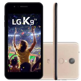 Celular Lg K9 Com Tv Digital Dourado 16gb Tela 5 Dual C