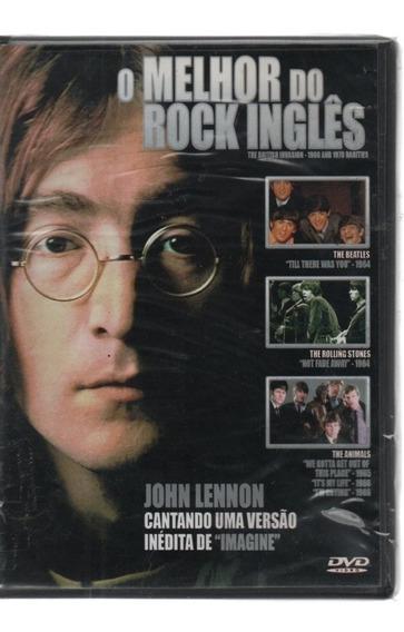 0204 Dvd Melhor Do Rock Inglês Lennon Beatles Stones