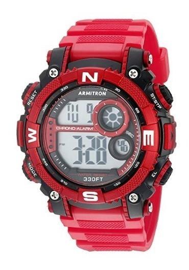 Reloj Para Hombre Armitron Deportivo Rojo