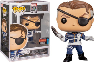 Funko Pop Marvel 80 Years Nick Fury Convention 2019 Exclusiv