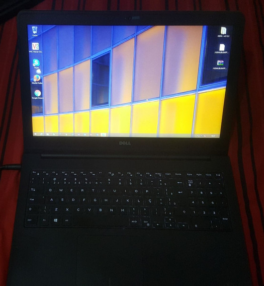 Notebook Dell Inspirion I7 - 16gb Ram - Mem 1 Tb- Hd 250 Ssd