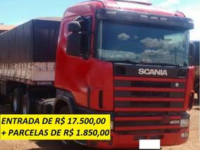 Scania Scania 124 400 Trucado Com Bitrem Graneleiro Randon