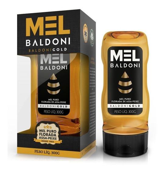 Mel Baldoni Gold Puro Florada Assa-peixe Bisnaga 300g