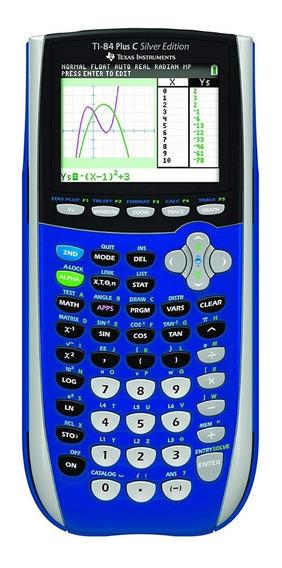Calculadora Gráfica Texas Ti-84 Plus C Silver Edition