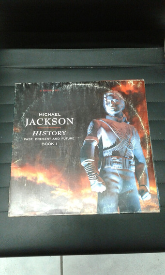Lp Triplo Michael Jackson History Past. Present And Future