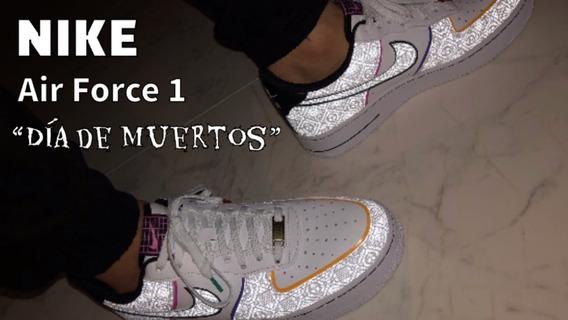 Nike Air Force 1 Dia De Muertos
