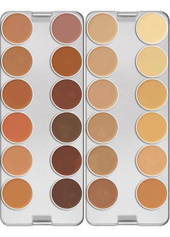 Kryolan Dermacolor Correctores Camouflage Creme Paleta 24