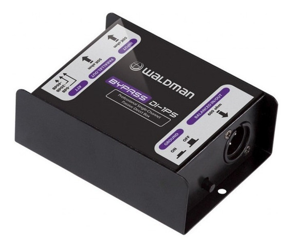 Direct Box Passivo Bypass Waldman Di 1ps 1 Conexão