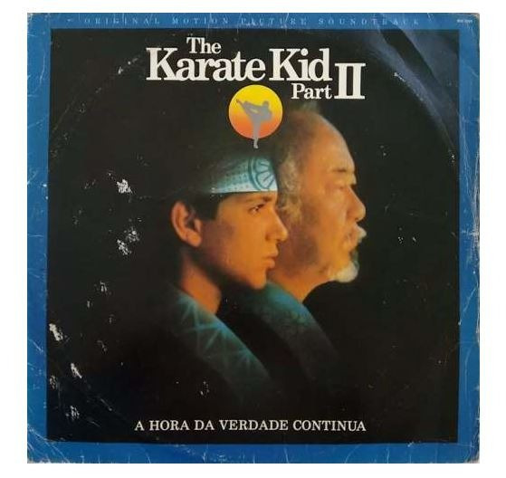Disco De Vinil Karate Kid Parte Ii
