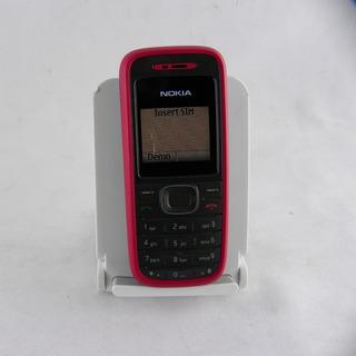 Celular Nokia 1208 Vermelho Resistente Otima Bateria -usado
