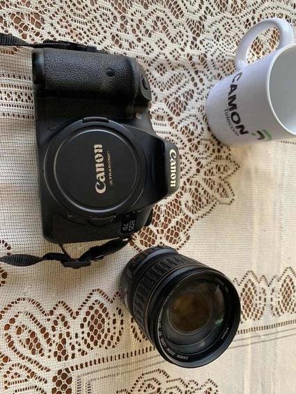 Câmera Canon Eos 7d Original C/ Lente + Bag Com Acessórios