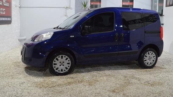Fiat Qubo Active 1.4 8v Nafta 2014 Azul En Muy Buen Estado!!
