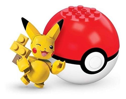 Mega Construx Pikachu Pokemon Winkin Serie Fnl92 Pokeball 4