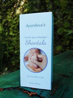 Aceite Para Masajes Bebes Shantala