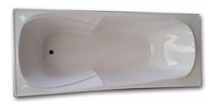 Imagen 1 de 4 de Bañera 1.70 Fibra Reforzada Anatomica Apoyabrazo Super Ofert