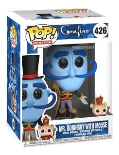 Funko Pop Coraline Mr Bobinsky 426 Original Pop Scarlet Kids