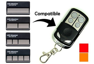 Exceltek Compatible Garage Remote Con Liftmaster Chamberlain