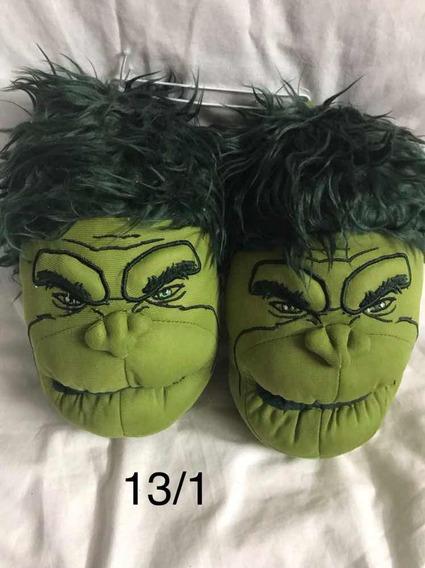 Pantuflas Hulk Número 30/31