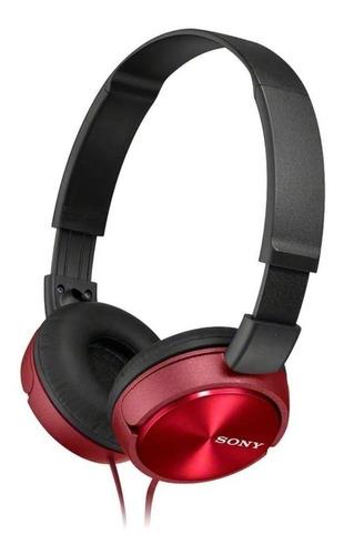 Imagen 1 de 2 de Audífonos Sony ZX Series MDR-ZX310 red