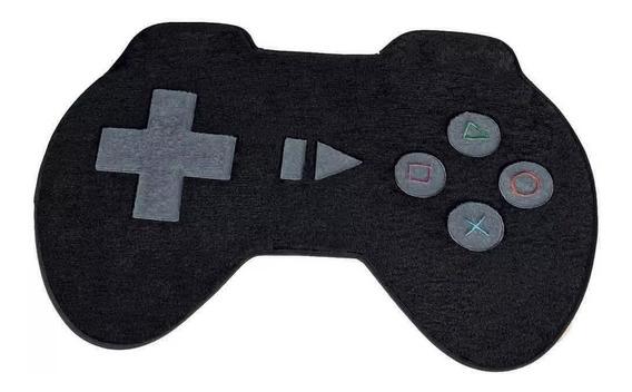 Tapete Infantil Quarto Pelúcia Controle Video Game Médio