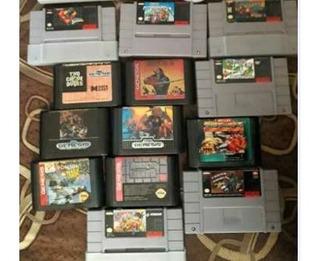 Juegos Super Nintendo Snes Sega Genesis