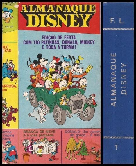 Almanaque Disney Número 1 Ao 5. Encadernados. 1970.