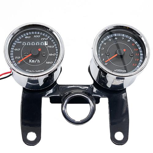 Velocidad Tacómetro Del Velocímetro Del Odómetro De La Motoc