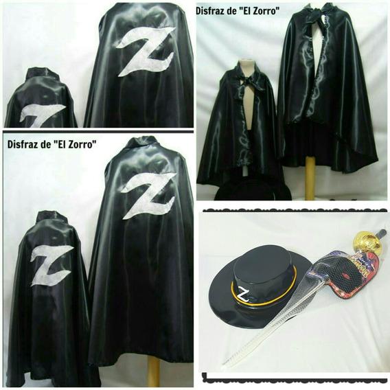 Disfraz De Zorro Para Niños Entre 3 Años Y 8 Años