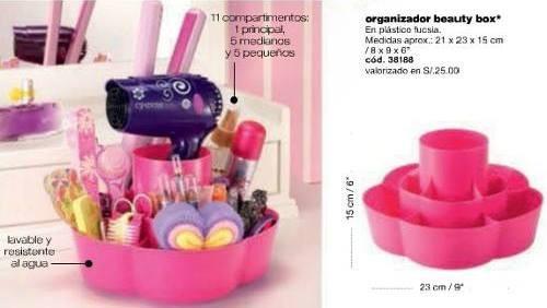 Organizador Cyzone Beauty Box Base Giratori Excelente Regalo
