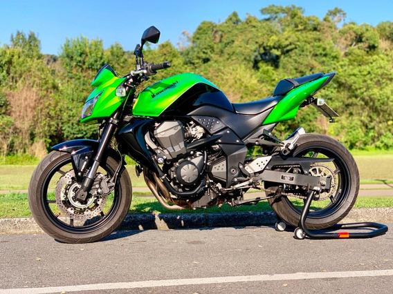Kawasaki Z-750 Abs 2012 Verde Com Preto