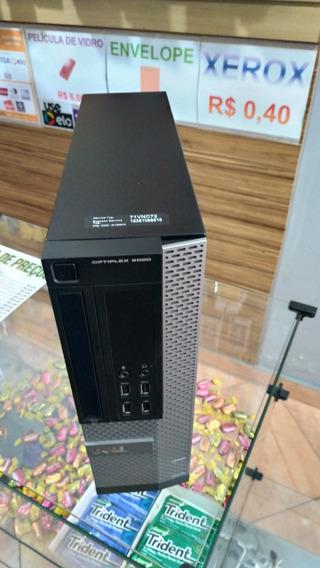 Pc Dell Ssf 9020 I7 4.0ghz 16gb Ssd 480gb Estado De Novo W10