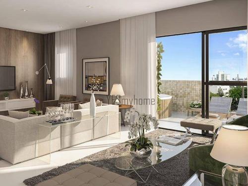 Cobertura Com 3 Dormitórios À Venda, 170 M² Por R$ 1.960.000,00 - Alto Da Glória - Curitiba/pr - Co0113