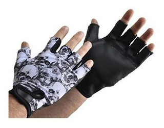 Guantes Black Skull Sonnos Gimnasio Fitness Talle S