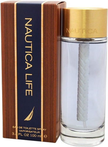 Nautica Life For Men Spray 3.4 Ounce