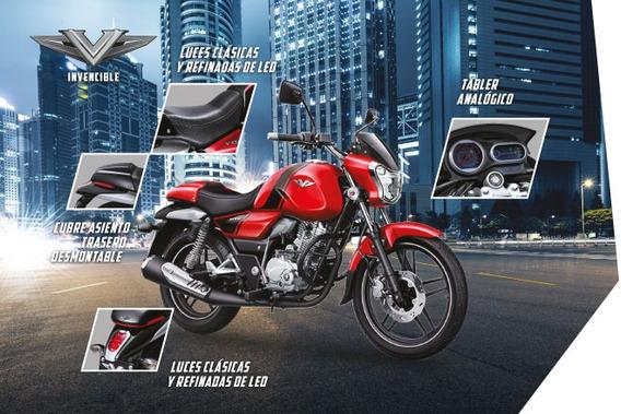 12 Cuotas Sin Interes De $ 12499 Bajaj V15 Moto 0km Cycles