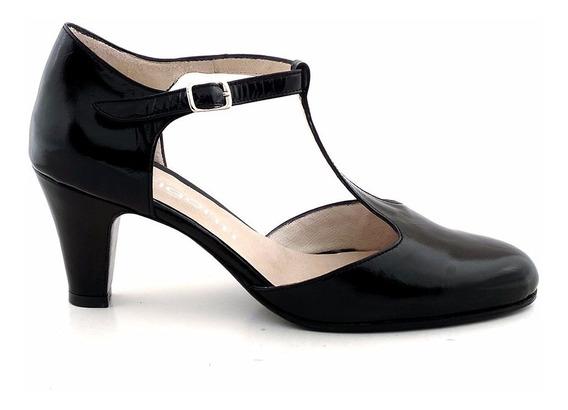 Zapato Mujer Clásico Cuero Briganti - Mccz03401