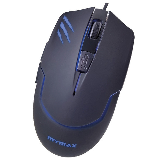 Mouse Gamer Mymax Tiger Usb 6 Botoes 4 Cores Led 2400dpi