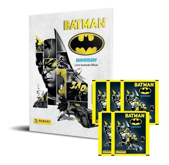 Box Premium Batman 80 Anos - Livro Capa Dura + 48 Envelopes